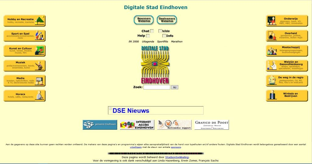 Nieuwe stijl voor DSE