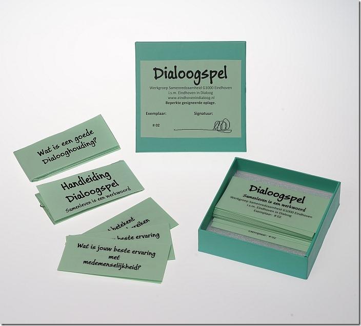 Dialoogspel Samenleven is een werkwoord